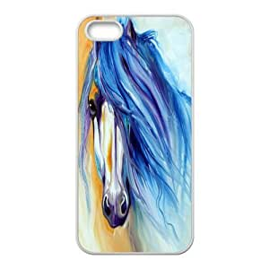 Fashion Horse Personalized iPhone 5 5S Rubber Silicone Case Cover