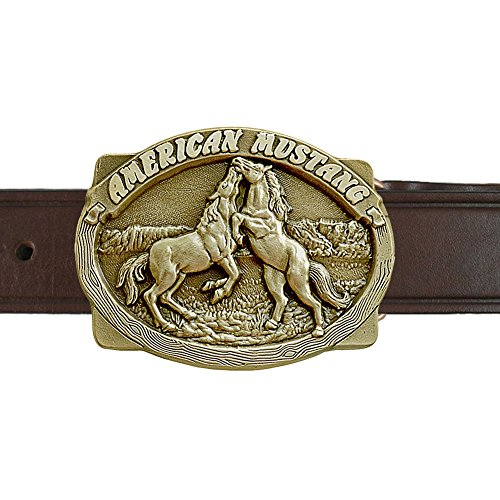 American Mustangs Buckle and Belt OBM160B IMC-Retail