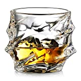 Ecooe Crystal Whiskey Glasses Old Fashioned Whiskey Glass Scotch Whiskey Glasses Set of 2 Whiskey Tumbler Bourbon Glasses Set Glassware Whiskey Drinking Glass Gift Set 320ml Review