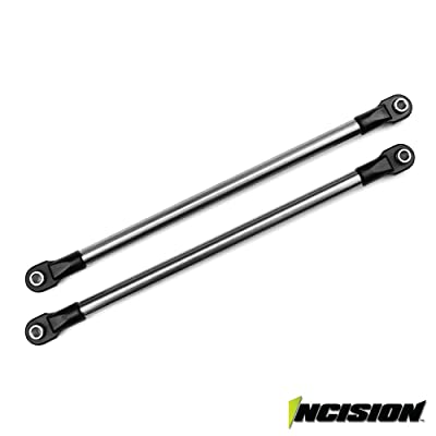 VANQUISH INCISION BAJA REY/ROCK REY REAR UPPER LINK KIT LOSI IRC00160: Toys & Games