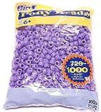 Darice Opaque Purple Pony Beads, 9mm
