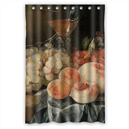 Monadicase Width X Height / 48 X 72 Inches / W H 120 By 180 Cm Famous Classic Art Painting Flowers Blossoms Christmas Shower Curtains Polyester Fabric Ornament And Gift To Family Relatives Hotel G (Puppet Photo Replica)