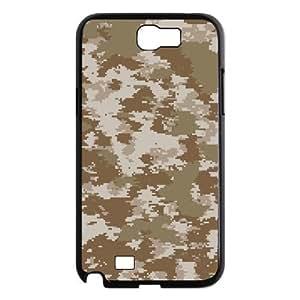 ALICASE Diy Design Back Case Camouflage for Samsung Galaxy Note 2 N7100 [Pattern-1]
