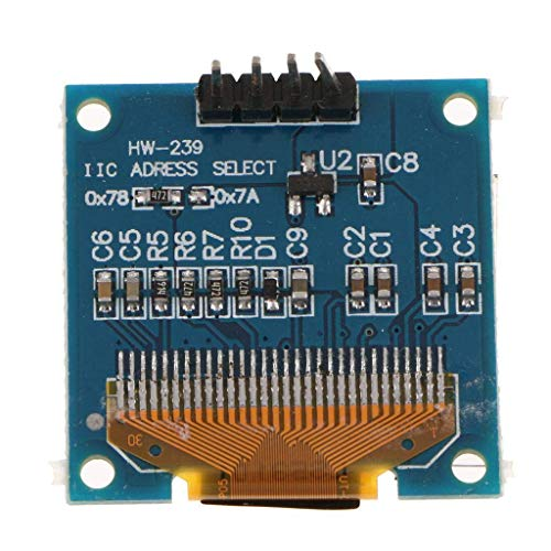 nouler Juler 'S New 0.96' Iic Serial 128X64 OLED LCD Display Module para Ssd1306 Compatible con Arduino, Serie 51 Serie...