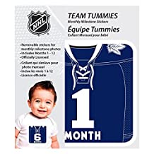 Toronto Maple Leafs Baby Team Tummies 12 Month Decal Set For Photos