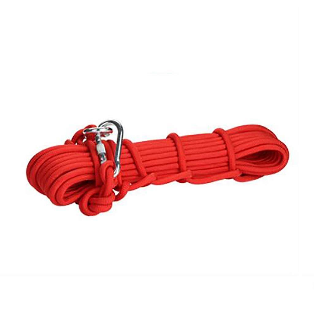 - TLMYDD Corde d'escalade Corde d'urgence Camping Escalade MultiCouleure et Multi-Taille pour la sélection Cordes (Couleur   E, Taille   10MM 20M)
