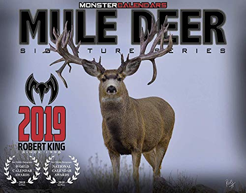 2019 Mule Deer Calendar of Monster Bucks by Monster Calendars/Robert King (1)