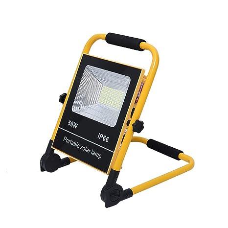 Foco Proyector LED Portátil, Proyector de Construcción Impermeable ...