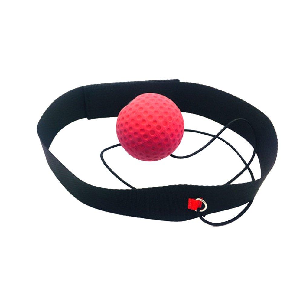 WINOMO - Bola reflectante de boxeo reflectante para entrenamiento para mejorar las reacciones y la velocidad