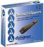 Dynarex 4893 Clippers Toenail 12/12/Case