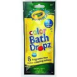 Hallmark Crayola Color Bath Dropz 8 Water-coloring Tablets