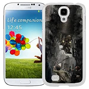 Fashionable Designed Cover Case For Samsung Galaxy S4 I9500 i337 M919 i545 r970 l720 With Steampunk Robot Fantasy Mobile Wallpaper (2) Phone Case
