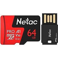Cartão Memória Micro SD Extreme Pro Netac e ADPT USB (64GB)