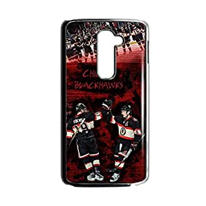 Generic Protection Phone Cases For Kids For Lg G2 Design With Nhl Chicago Blackhawks Choose Design 4