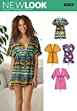 Simplicity Creative Patterns New Look 6283 Misses' Mini Dress or Tunic, A (8-10-12-14-16-18)