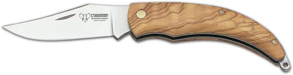 /Sat/én de Caza Cudeman Adultos/ Madera de Olivo, Longitud de la Hoja: 9/cm, Cuchillo de cudm 1263, no Indicaci/ón