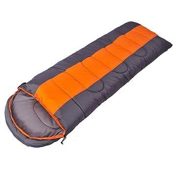 GOFEI Saco de Dormir Impermeable y Resistente a los desgarros 1,8 kg de algodón