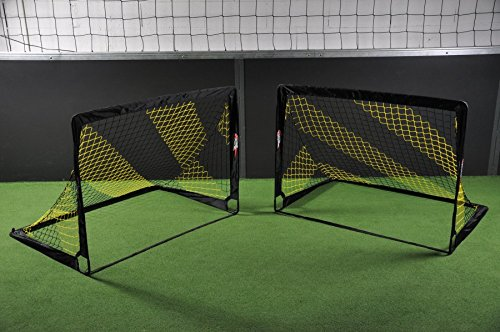 POWERSHOT OFFERTA IMPERDIBILE! Coppia di Mini Porte da Calcio POP UP 1, 80 x 1, 20 m Netsportique