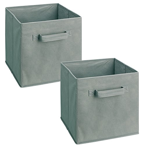closetmaid-18657-cubeicals-fabric-drawer-gray-2-pack