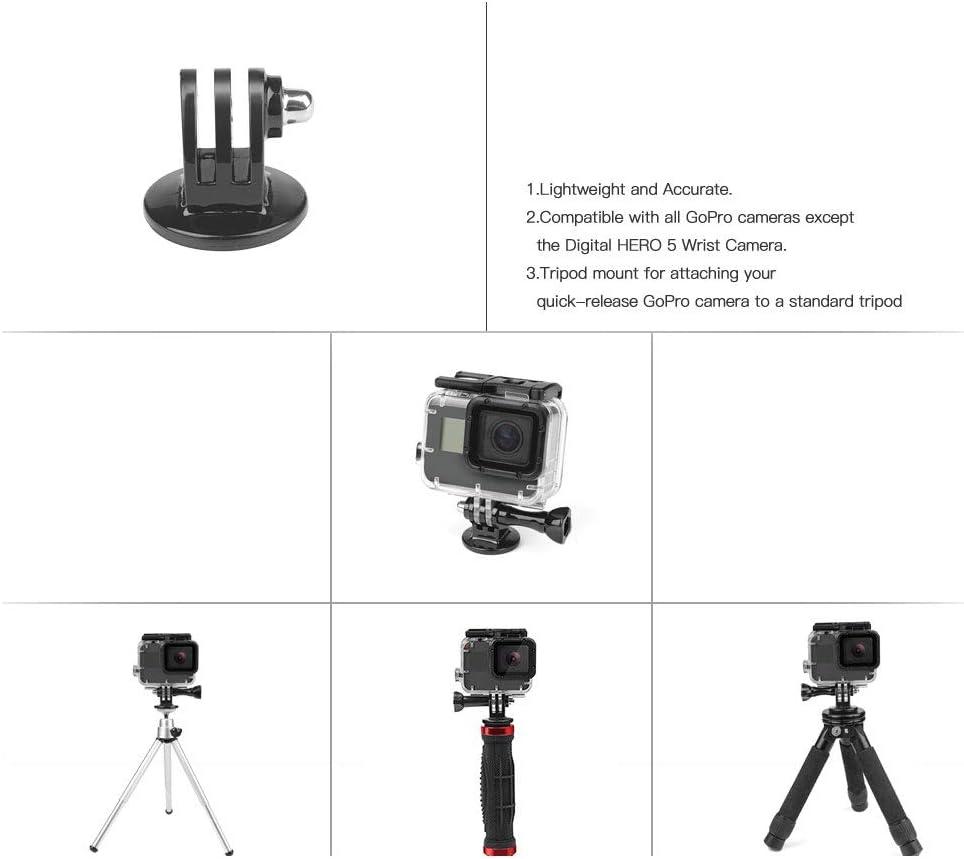 Tripod Mount Adapter Stand and Screw for GoPro Hero 7 6 5 4 Black Session Xiaomi Yi 4K SJCAM SJ4000 SJ5000 H9 Cam Mount