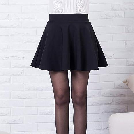 QBXDQ Falda Corta Nuevo Faldas Cortas para Mujer Casual Vintage ...