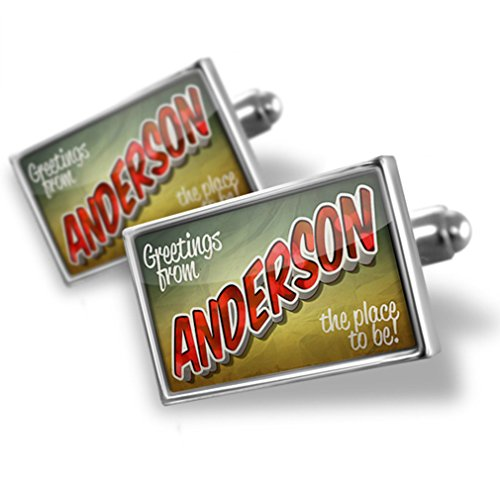 from Anderson, Vintage Postcard - Neonblond (Anderson Silver Cufflinks)