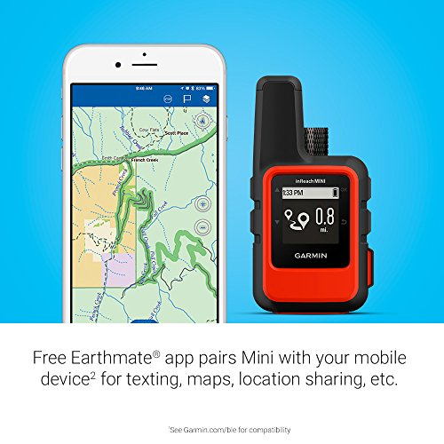 garmin inreach mini lightweight and compact satellite communicator orange 010 01879 00. Black Bedroom Furniture Sets. Home Design Ideas