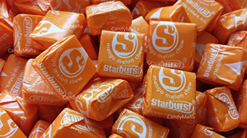 - Starburst Tropical Flavors - Mango Melon Starburst One Pound