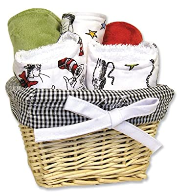 Trend Lab Dr. Seuss Seven Piece Gift Set, Cat In The Hat by Trend Lab