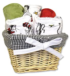 Trend Lab Dr. Seuss Seven Piece Gift Set, Cat In The Hat