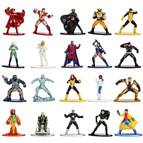 Marvel X-Men 20 Pack Die-Cast Figures, 1.65