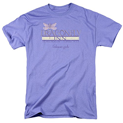 Gilmore Girls Dragonfly Inn Mens Adult T-shirt Lavender (Medium)