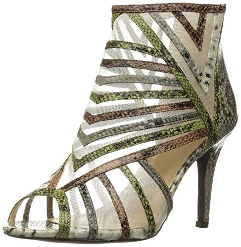 Annie Shoes Women's Blast Dress Sandal, Brown, 8 M (Annie Print Sandals)