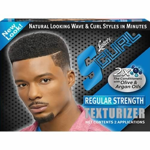 Texturizer S-curl Lusters Regular - Lusters Scurl Texturizer - 2 Applications In Kit-Regular Strength