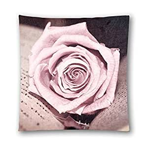 CCTUSGSH Sweet Love Series Special Gift For Lover Cotton Throw Pillow Case Decorative Cushion Cover 18 X 18 Inches One Side