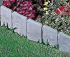 Piedras adoquinadas Lakedland para bordes de jardín de Good Ideas (384), crea cualquier forma en un instanteProtege alfombras de flores.: Amazon.es: Jardín