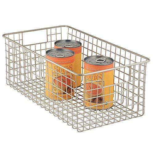 InterDesign Classico Kitchen Pantry Freezer Wire Basket
