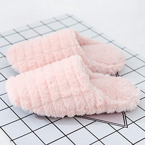 Chaud Coton Et Antidérapant Light Taille Pink Slipper Doublure 35 Garder Intérieur 36yards Td Pink Hiver Mme En Au Automne Peluche couleur f5WvAntwq