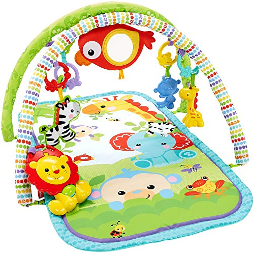 Fisher-Price 3-In-1 Musical Rainforest Activity Gym – Standard Packaging