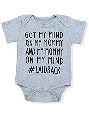 Oklady Newborn Baby Boy Girl Clothes GOT My Mind ON My Mommy Funny Bodysuits Cute Rompers Outfits