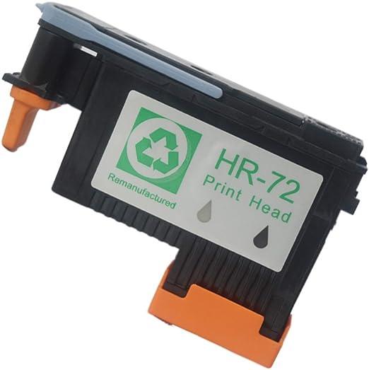Caid 1 x cabezal de impresión (negro/gris) Compatible HP 72 cabezal de impresión para HP DesignJet T1100 T1200 T1100 t1100ps T1120 t1120ps T1200 T1300 T2300 T610 T620 T770 T790 T795: Amazon.es: Oficina