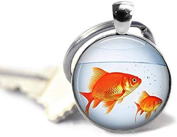 Aquarianer Aquarium Fische Evolution Schlüsselanhänger Schlüsselband Lanyard
