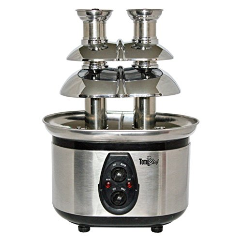 Total Chef WTF-43E Double Chocolate Fountain (Chocolate Fountain Buffet compare prices)