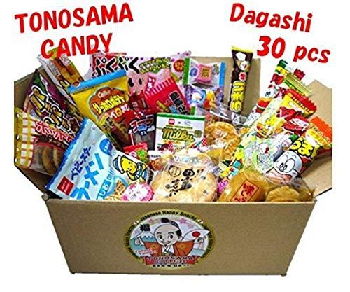 Japanese candy assortment 30pcs, Tonosama Candy 11.30oz/319g
