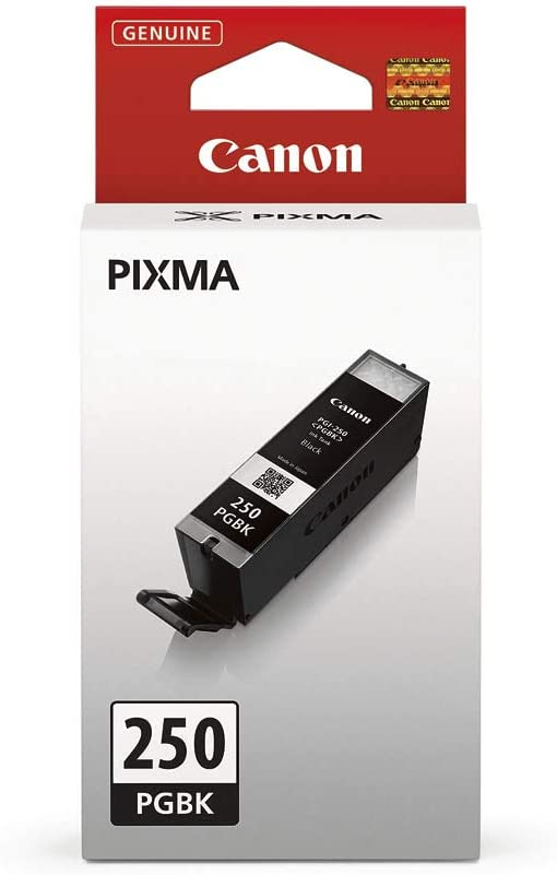 Canon PGI-250 PGBK Ink Tank, Compatible to MG5520, MG6620, MG5420, MG5422, MG5522, MG5620, MG6320, MG6420, MG7120, MG7520, MX722, MX922, iP7220, iP8720, and iX6820, Black