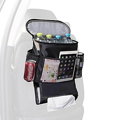 Autoark Car Seat Back Organizer,Multi-Pocket Travel Storage Bag(Heat-Preservation)