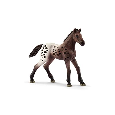 SCHLEICH Horse Club Appaloosa Foal Educational Figurine for Kids Ages 5-12: Schleich: Toys & Games