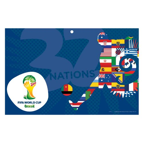 World Cup Soccer 2014 FIFA 11x17 Wood Sign