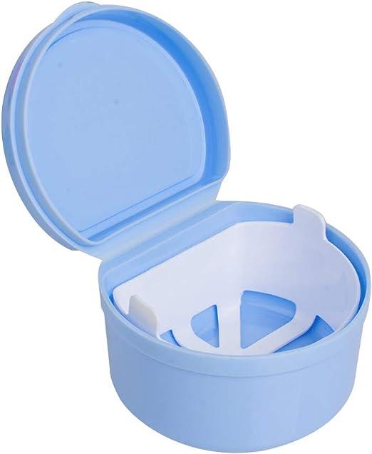 genmine Denture caja de baño con colador Dental Ortodoncia ...