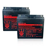 Merits Merits Travel-Ease Regal P1201 12V 18Ah SLA Replacement Mobility Scooters Battery - 2 pack